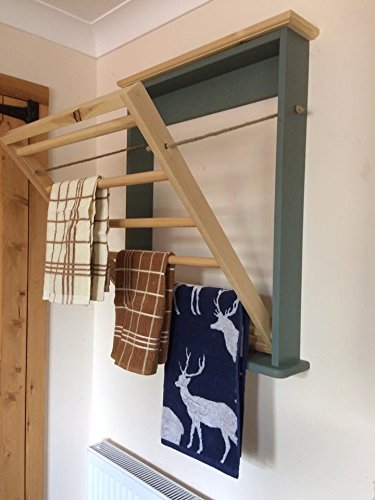Wall Mounted Clothes Drying Rack Or Towel Rail Perfect For Modern
