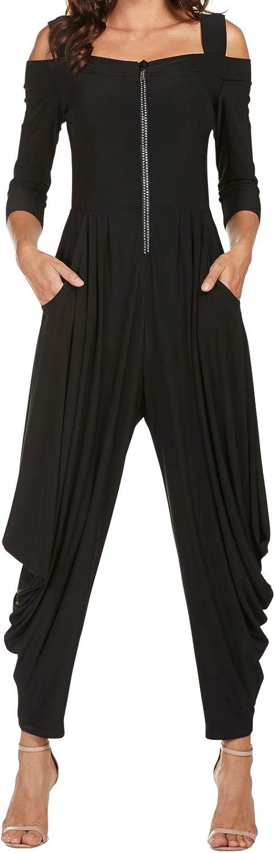 FRANK LYMAN Womens Jumpsuit Style 176080