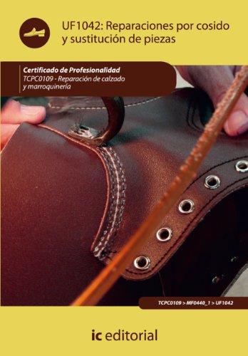Reparaciones por cosido y sustitución de piezas. TCPC0109 (Spanish Edition) by [Miranda