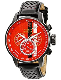 Invicta Men's 19291 S1 Rally Analog Display Japanese Quartz Black Watch