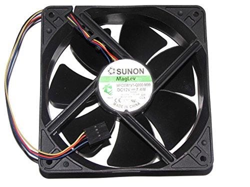 For Dell OPTIPLEX 360 745/755/760 BTX YK550 Case Fan,MFC0381V1-Q000-M99 12V 7.4W 0.62A Cooler Fan