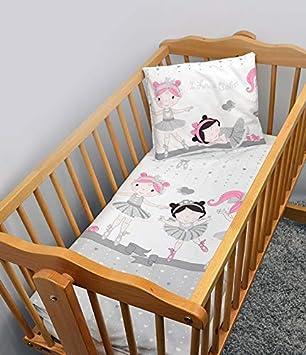 2-teiliges Baby Kinder Bettbezug 120 x 90 cm mit Kopfkissenbezug Muster 13