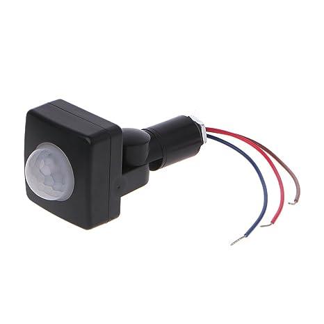 GBOTTOM LED 110 ° 100W Infrarrojo PIR Detector de Sensor de ...