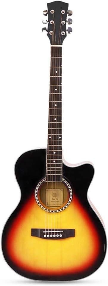 BAIYING-Guitarra Acústica Instrumento Clasico Estudiante Actuación ...