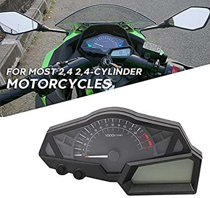 kawasaki ninja 300 wiring diagram amazon com motorcycle oem gauges cluster speedometer speedo  motorcycle oem gauges cluster