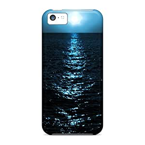 Iphone High Quality Tpu Case/ Moon Light ISK4748mATY Case Cover For Iphone 5c