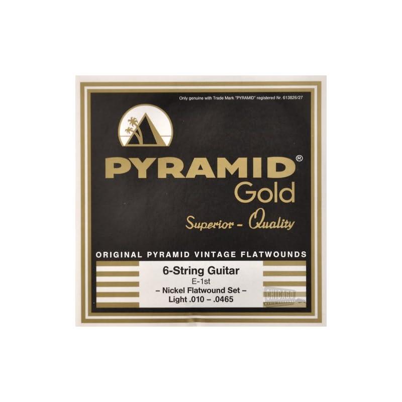 Pyramid Gold Flatwound Light Electric Gu