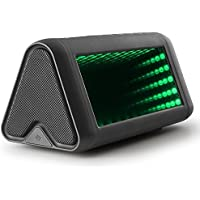 Bluetooth Speakers,LESHP Magic Mirror HiFi LED Bass Portable Wireless Bluetooth Speakers 3D Dynamic Lighting with Colorful Light Bluetooth Hands-free AUX Input Function (Magic Mirror)
