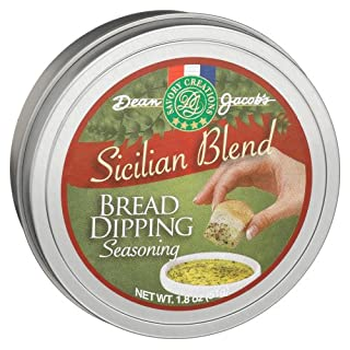 Dean Jacobs Sicilian Bread Dipping Tins - Refill, 1.8-Ounce Tins (Pack of 6)