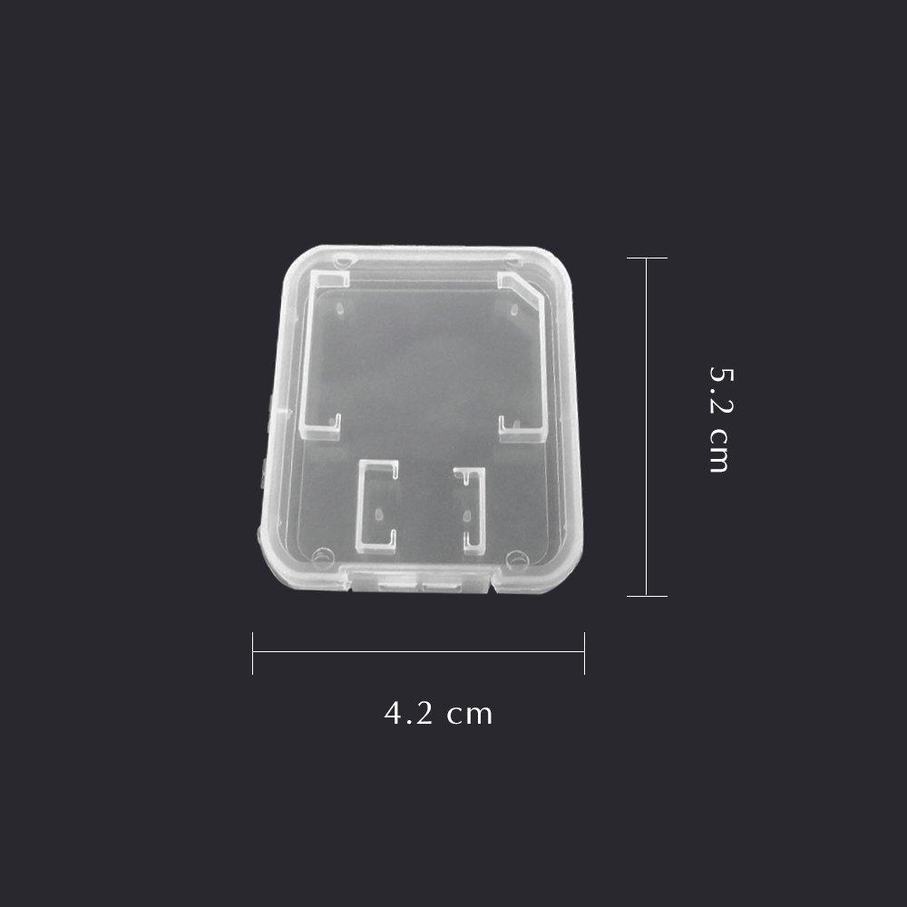 Doutop Speicherkarte H/ülle f/ür SD TF MMC Micro SD SDHC 20 St/ück Schutzh/ülle Aufbewahrung