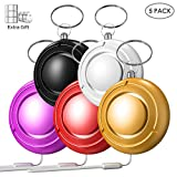Safesound Personal Alarm, 130dB Siren Pocket Guardian Personal Alarm for Elderly Women Kids Seniors with Extra 6 Batteries -5 Pack