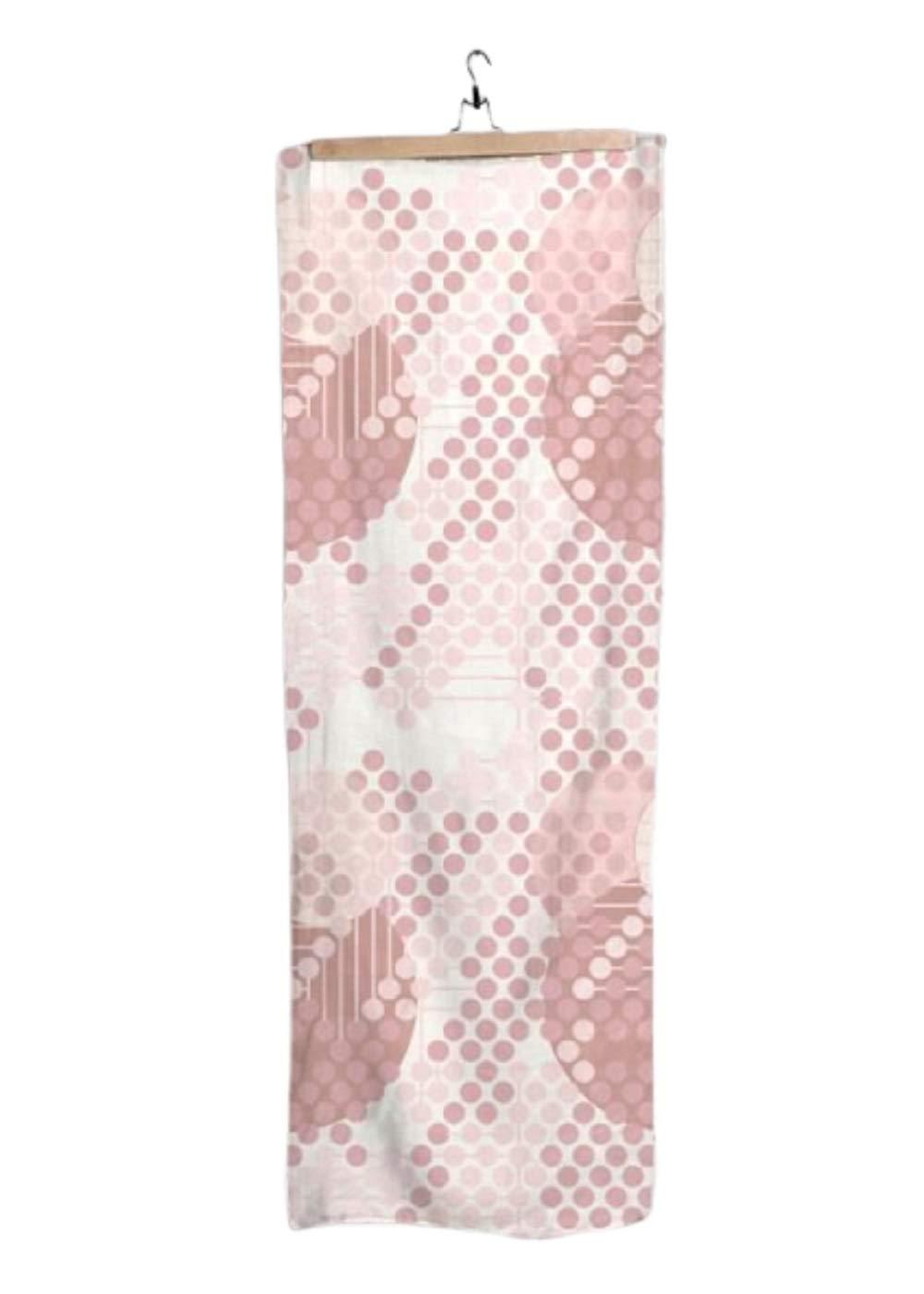 VIDA Rose Modal Scarf (1955 Textile Design - 105) 28'' × 78'' | Original Artwork by Frank Lloyd Wright