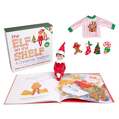 Elf On The Shelf: Boy with Customizable Christmas Sweater Set