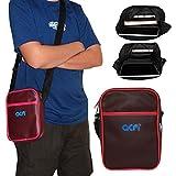 Acm Premium Soft Dual Padded Shoulder Sling Bag For Kindle Oasis 6' Carrying Case Purple