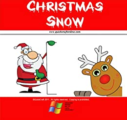 Children Christmas Poem.Amazon Com Snow Christmas Poem For Children Quickcraft