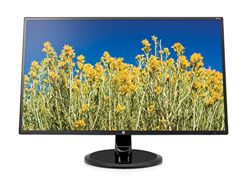 HP 27-inch FHD IPS Monitor with Tilt Adjustment and Anti-glare Panel (27yh, Black) - 3UA74AA#ABA