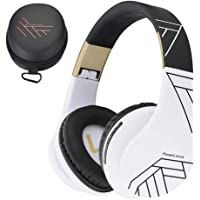 PowerLocus Bluetooth Over-Ear Headphones, Wireless Stereo Foldable Headphones Wireless and Wired Headsets with Built-in…