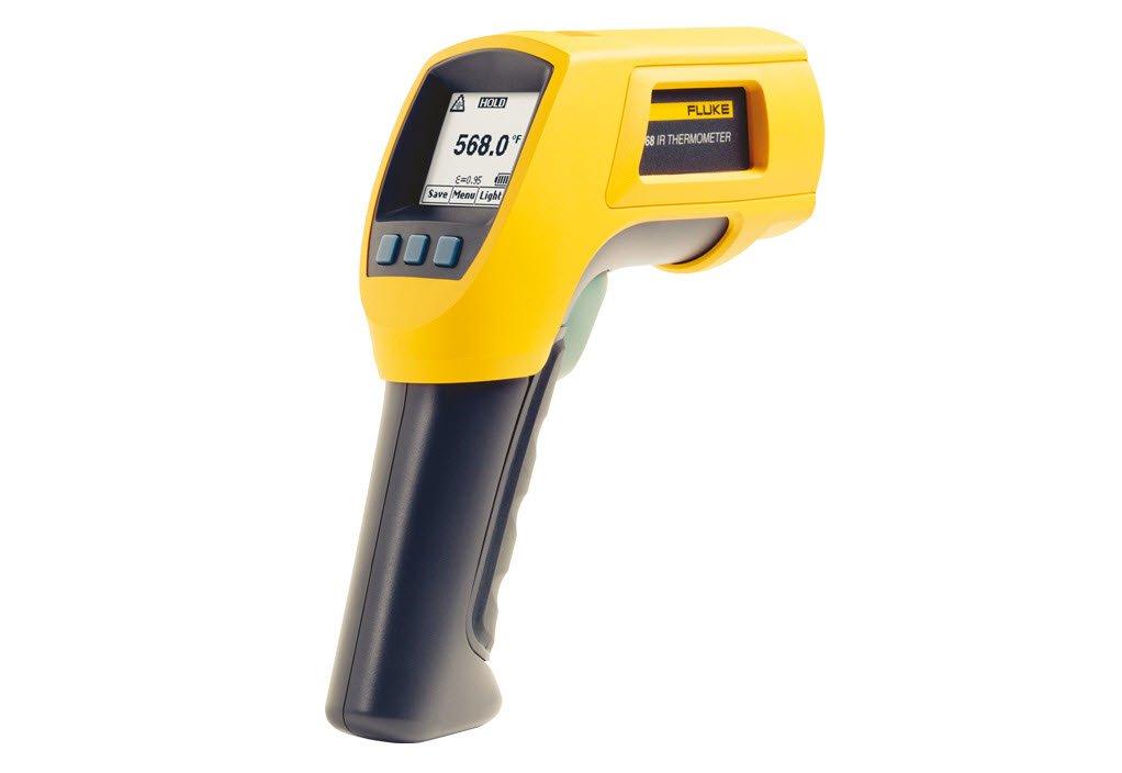 FLUKE FLUKE-568 EX/ETL intrínseco seguro termómetro de infrarrojos con aprobación ETL, -40/800 °C Rango de temperatura: Amazon.es: Bricolaje y herramientas