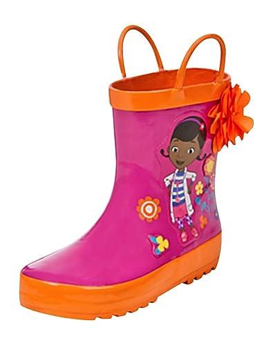 Amazon.com | Disney Store Deluxe Doc McStuffins Rain Boots Shoes ...
