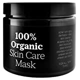 100% Organic Natural Skin Care Moor Mud Mask Spa Treatment. A Dirty Beauty Secret from Marks Gouger ✪ For Acne, Anti-Aging, Dermatitis, Eczema, Pore Minimizer, Psoriasis, Sun Spots, Uneven Skin Tone