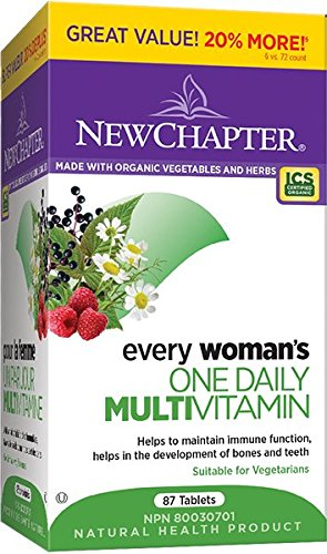 New Chapter Every Woman's One Daily 40 Plus Bonus Multivitamin Tablets