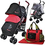 iSafe buggy Stroller Pushchair - Racer (Complete With Footmuff, Changing Bag, Bumper Bar & Rain...