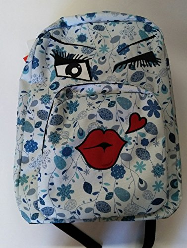 217d67bcde ZAINO INVICTA - OLLIE PACK FACE - Blue fantasia kiss - tasca porta pc  padded -