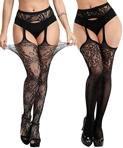 Buitifo Suspender Pantyhose Thigh High Stockings product image