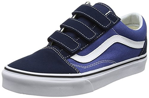 Vans V Trainers Unisex Skool Blue Old Adults' fSrqnwxfd