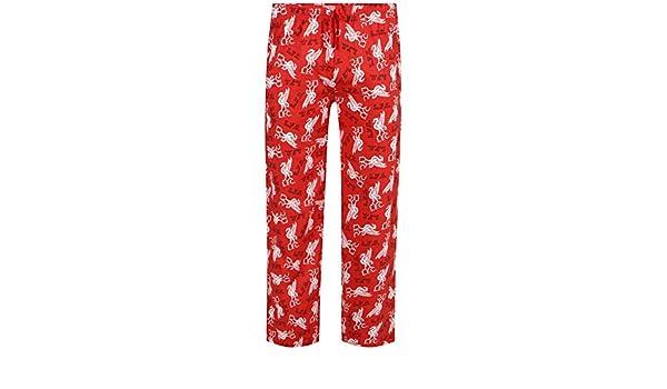 Football Clubs - Pantalón de pijama - para hombre Negro LIVERPOOL RED X-Large: Amazon.es: Ropa y accesorios