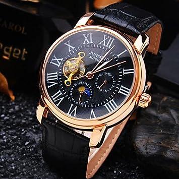 XKC-watches Relojes para Hombres, De Alta Gama de Negocios de los Hombres Ronda