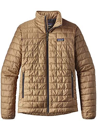 Patagonia Men's Nano Puff Jacket - 84212 (Mojave Khaki, Large) - Patagonia Storm Jacket