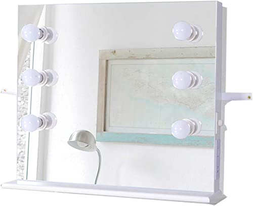 GLS Hollywood White Vanity Makeup Mirror