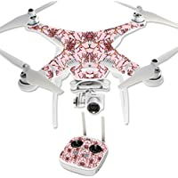 MightySkins Protective Vinyl Skin Decal for DJI Phantom 3 Professional Quadcopter Drone wrap cover sticker skins Flower Crown