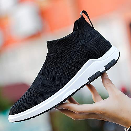 Liuxc Baskets Chaussures de Sport, Chaussures de Sport d'automne, Chaussettes Hautes, Chaussures Volantes, Chaussures Confortables
