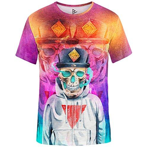 Blowhammer T-Shirt Herren - Underground Skull