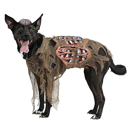 [Zombie Dog Pet Costume Pet Halloween Fancy Dress (L (Large))] (Adult Clifford Costumes)