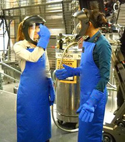 Holulo Safety Cryo-Apron Cryogenic Apron Nitrogen Working Suit 33'' Length x 26'' (L) by Holulo (Image #8)
