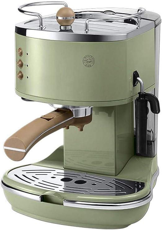 HEYU Cafetera Máquina de café Espresso automática Retro