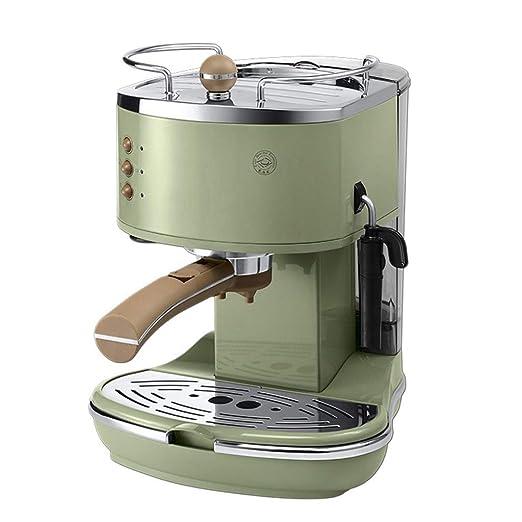 HEYU-Cafetera Máquina de café Espresso automática Retro, máquina ...