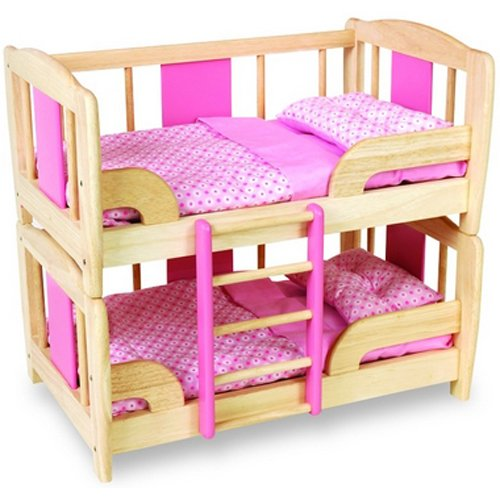 Pintoy Doll S Bunk Bed Amazon Co Uk Toys Games
