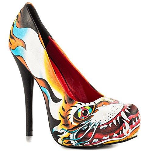 Iron Fist - Zapatos de vestir para mujer multicolor multicolor
