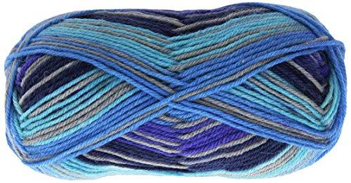 Patons  Kroy Socks Yarn - (1) Super Fine Gauge  - 1.75 oz -  Deep End   -   For Crochet, Knitting & Crafting