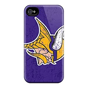 Shock Absorbent Cell-phone Hard Covers For Iphone 6 (eNP17207iVWq) Allow Personal Design Fashion Minnesota Vikings Image