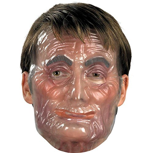 Old Male Plastic Transparent Mask product image
