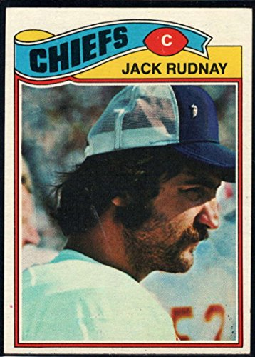 Football NFL 1977 Topps #487 Jack Rudnay Chiefs