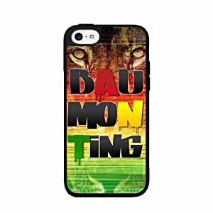 Badmon Ting TPU RUBBER SILICONE Phone Case Back Cover iPhone 4 4s