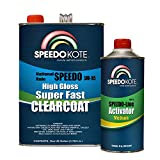 Speedokote Mobile Refinish Clear Coat High Gloss Super Fast Clearcoat Gallon Kit SMR-105/75