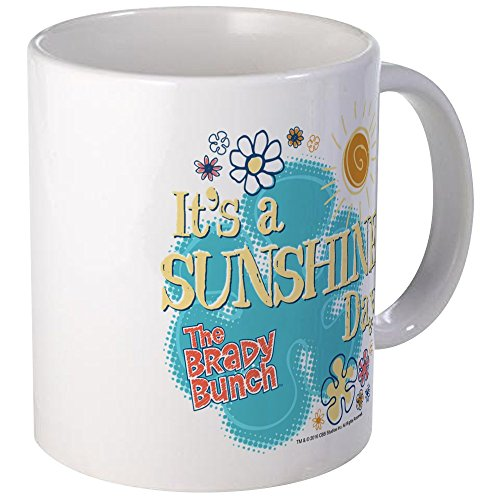 (CafePress - The Brady Bunch: Sunshine Day Mug - Unique Coffee Mug, Coffee Cup)