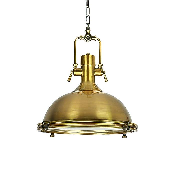 Amazon.com: CCSUN - Lámpara de techo industrial con lámpara ...